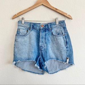 One Teaspoon High Waist Bonita Jean Shorts NWOT